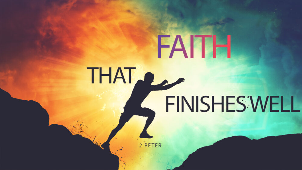 Faith That Finishes Well: Identifying the False